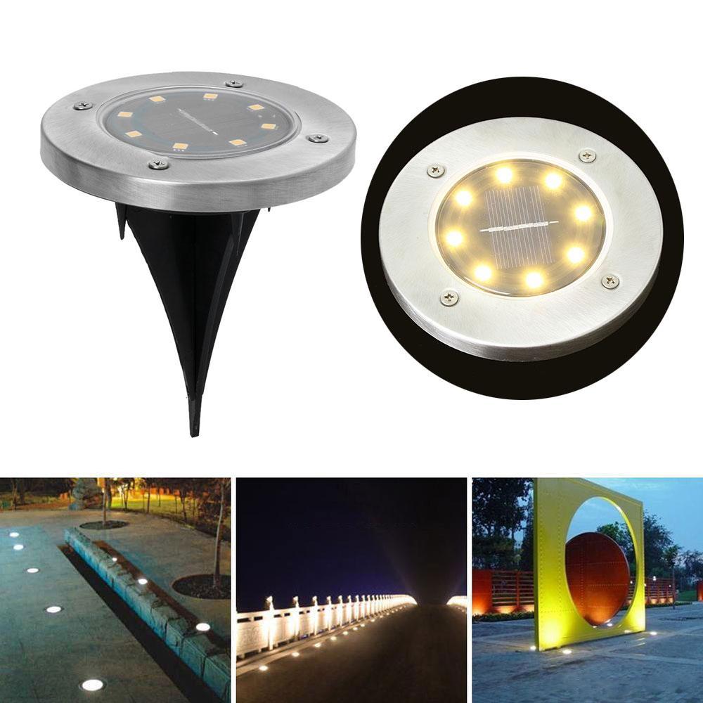 LED Luz L/ámpara De Subterr/ánea Color : 9W-Warm light Luz Enterrada Incrustada Impermeable Al Aire Libre Foco De Tierra LED Luz De Jard/ín Jard/ín 24V
