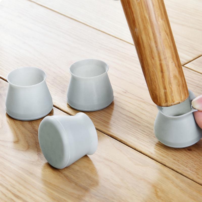 Alvivi 24 PCS Table Antid/érapant Caoutchouc de Chaise Pieds Protecteur Chaise Casquettes Pieds Feet Pads Protecteur pour Jambes de Meubles Carr/é 20 20mm Taille Unique