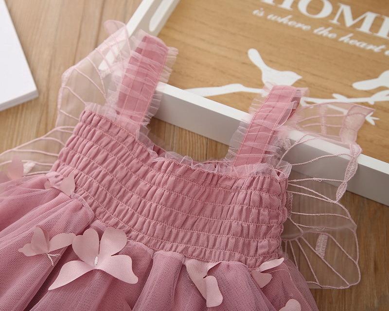 1-2-Butterfly Girl Dress