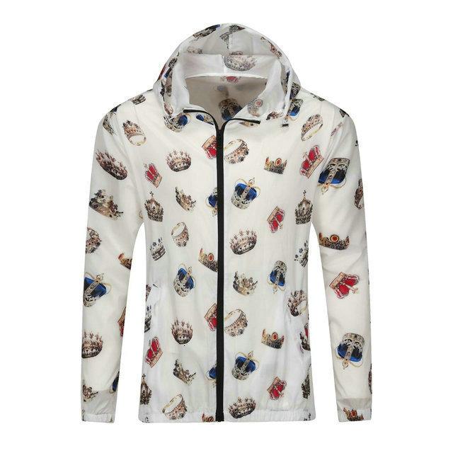 muse66 Мужская одежда куртки Корейский издание весной и осенью Стенд Воротник Одежда Молодежь Свободное время пальто Человек Сыпучие Тонкий 0722 ветровки