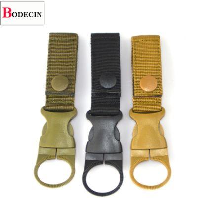 Baoblaze Nylon Cord with Clip Belt Holder Clip Bottle Hook