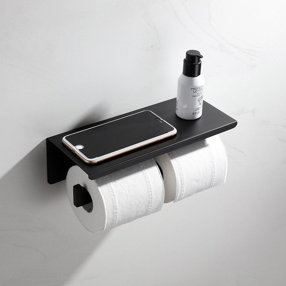 Soporte de rollo de papel higi/énico estante de ba/ño soporte de papel higi/énico estante de papel higi/énico de madera Dise/ño de onda