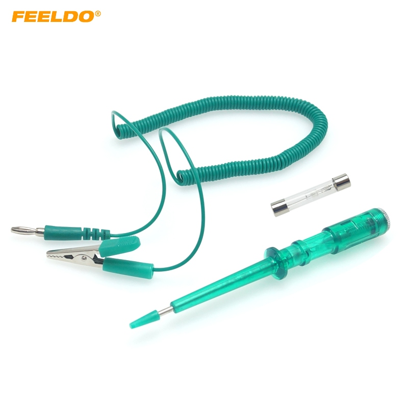 Automotive Elektrische Tester Lampe Auto Lampe Spannungspr/üfung Stift Bleistift F/ür Auto Lkw Motorrad Werkzeuge 1 st/ück