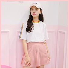 2017-New-Summer-Tops-Cute-Rainbow-Harajuku-Tshirts-Women-Clothing-Cotton-Best-Friends-Black-White-Tee