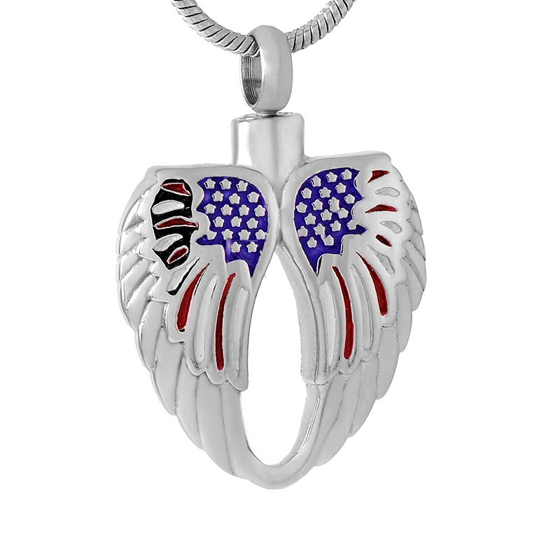 Argent Sterling 925 choisir une perle cage plume aile Médaillon Collier Pendentif K988