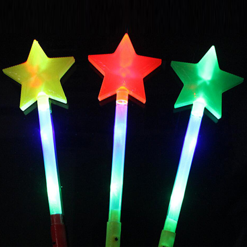 Led Sticks Star Love Heart Projection Glow Stick Light-Up Wands Festival Wedding Party Christmas New Year Led Party Supplies (8)