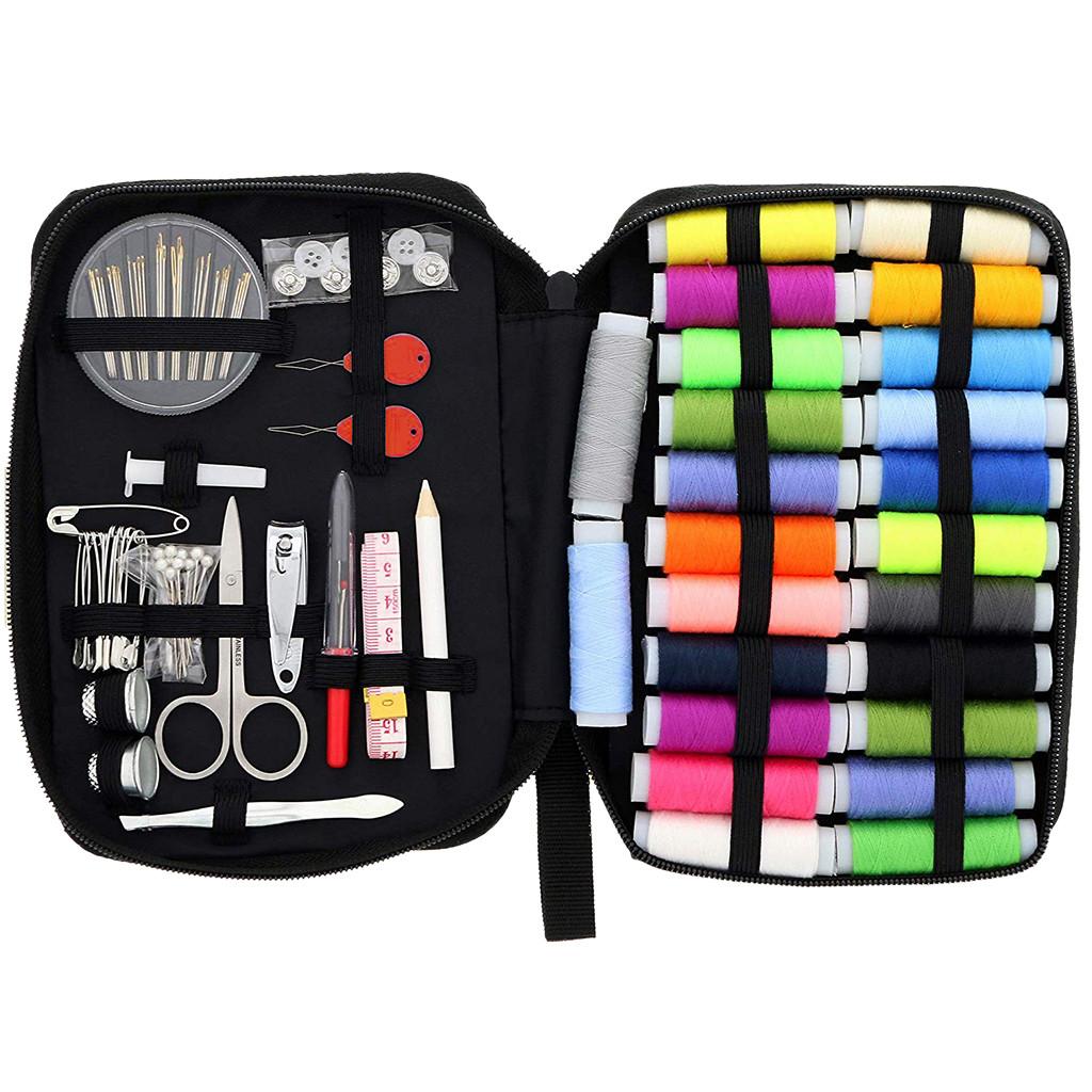 Mini kit de couture Kit de voyage Réparation Needle /& Thread Boutons PINS Cadeau Hotel