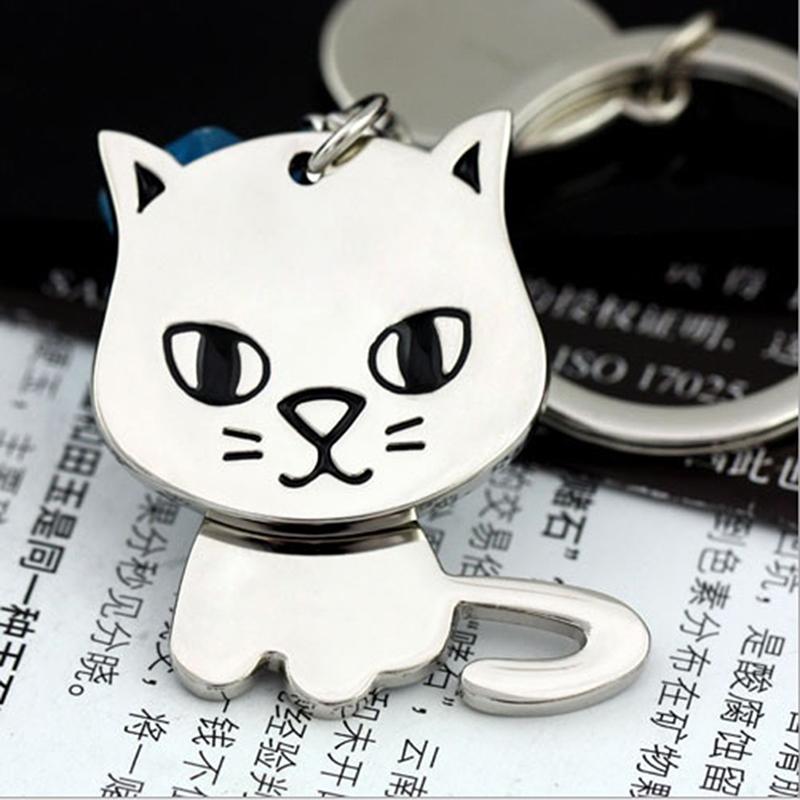 Silicone Puppy Pug Cat Rabbit Key Cover Cap Keychain Key Ring PVC Key Case /_WK