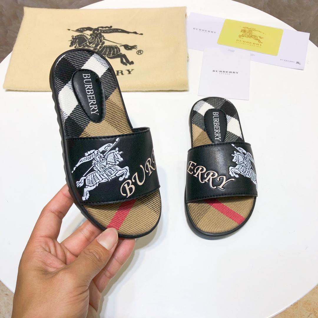 Zapatillas para niños Marca Niños Zapatillas de casa Estilo europeo y americano Impresión Moda Verano Zapatillas de suela plana Sandalia para exteriores N-Y1