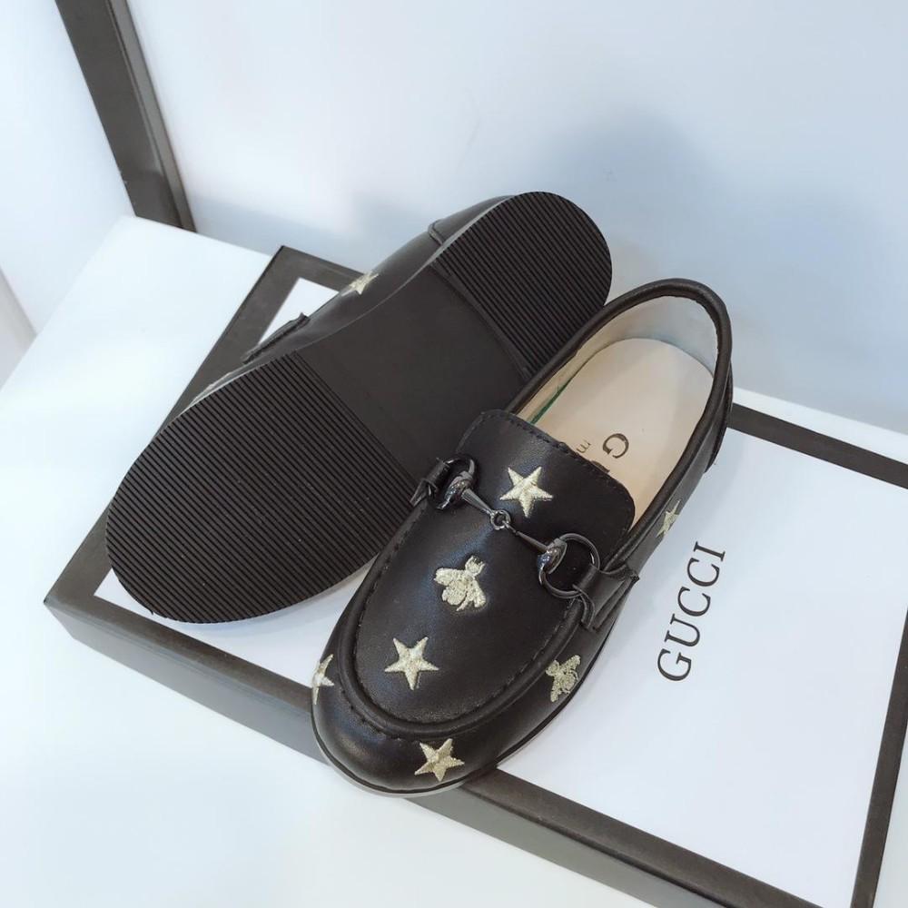 Boys'Leather Shoes Nouveau modèle au printemps 2019 Hot Fashion Star broderie style chinois de la mode estivale