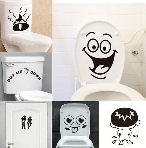 "Downloading Toilet Bathroom Funny Vinyl Decal Sticker Car Window laptop 7/"""