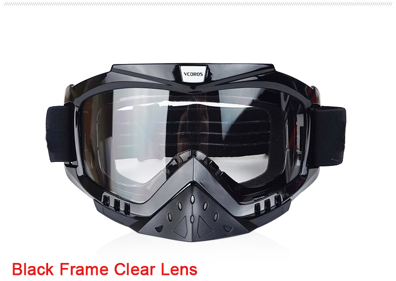 New Vcoros brand Gafas motorcycle goggles helmet glasses moto helmets glasses masque motocross goggles ski windproof eyewears (1)