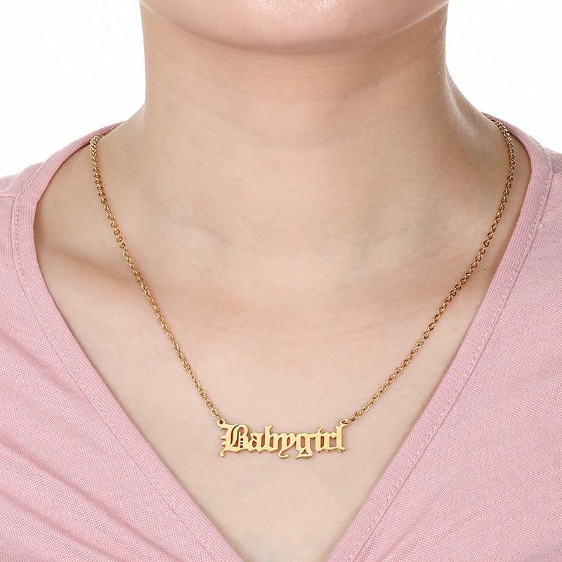 collier femme salope