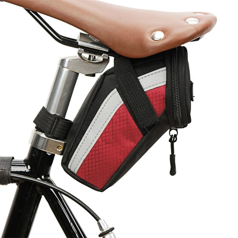 B-SOUL Bicycle Reflective Storage Saddle Bag Bike Seat Cycling Rear Pouch UK
