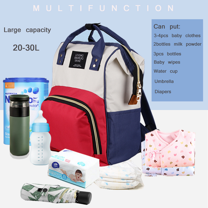 Borsa la cura del bambino con cerniera borsa da viaggio con cerniera infermiera mamma