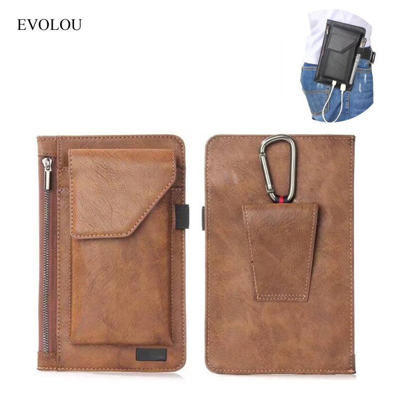 Belt Clip Cover Loop Holster Waist Bag Outdoors Phone Bag for Samsung J3 J5 J7 S8 S7 Edge XIAOMI Mi6 4X 4A MAX Cases Pouch Cover