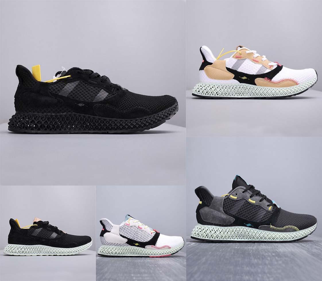 2020 Mens ZX 4000 Futurecraft 4D Trainers for Men Running Shoes Men's Sneaker Male Sports Shoe Man Trainer Man's Sneaker Sport Chaussures