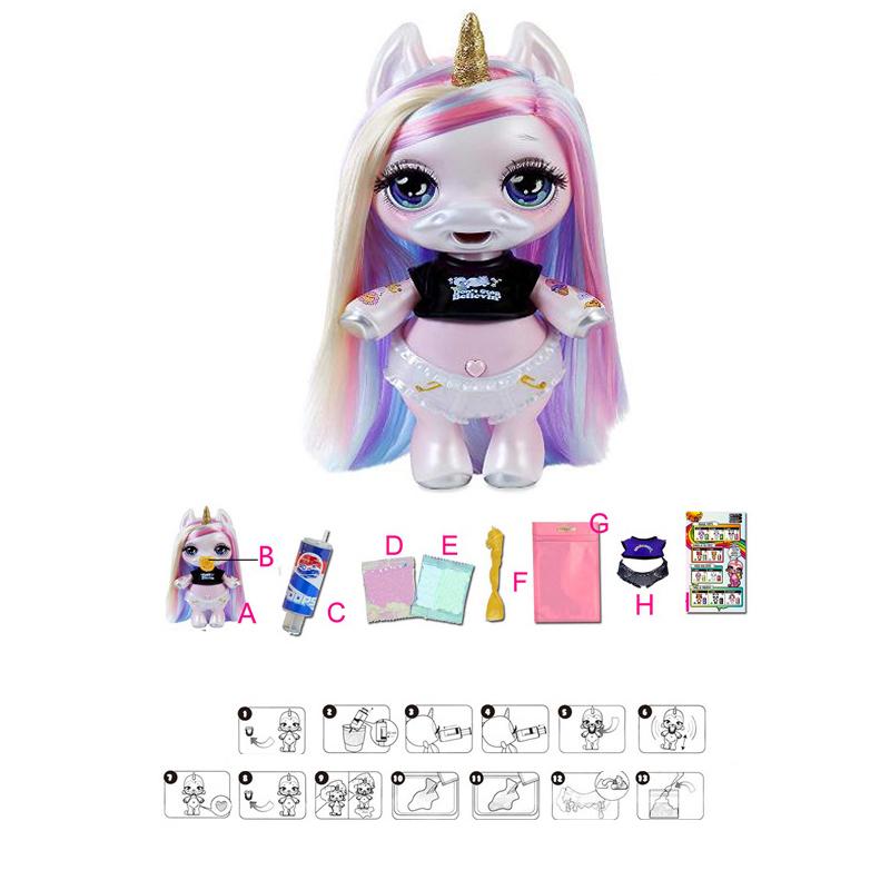 Poopsie Slime Surprise Unicorn-rainbow Bright Star Or Oopsie Starlight Toys Y190604
