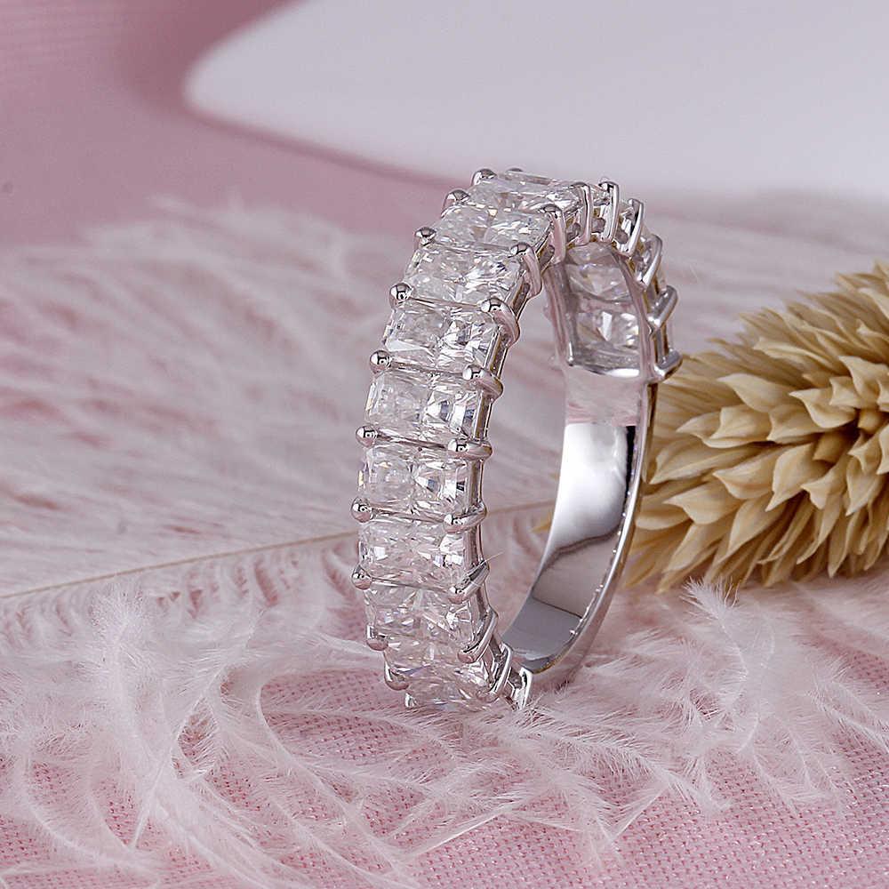 moissanite wedding band- radient cut (8)