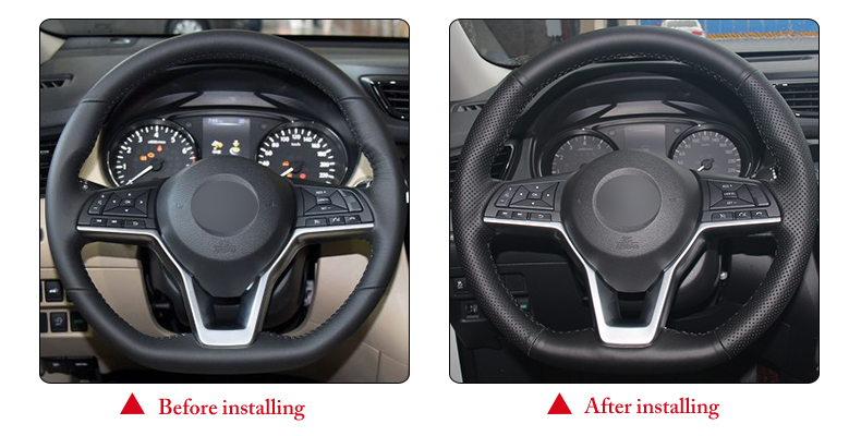 for Nissan X-Trail car steering wheel cover