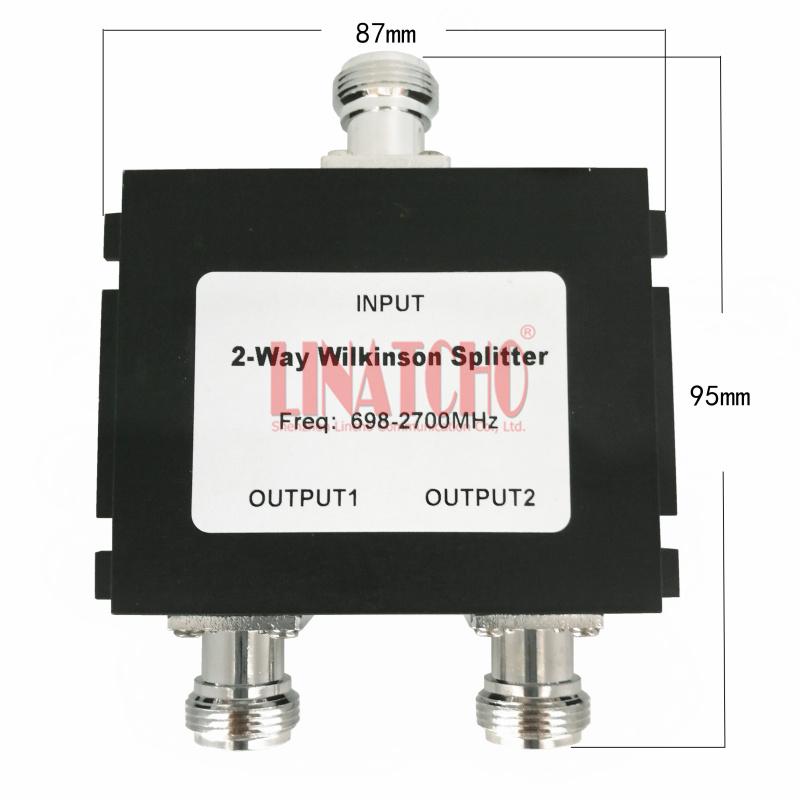 800-2500 MHz Verteiler N-Buchse 3-Fach Antennen-Splitter fr 2G 3G ...