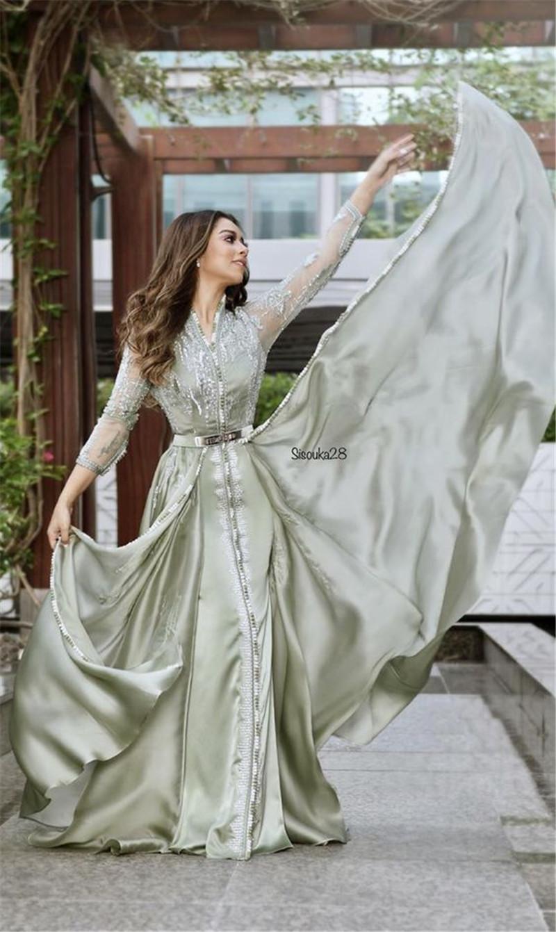 Dubai Seide Abendkleid Online Großhandel Vertriebspartner , Dubai