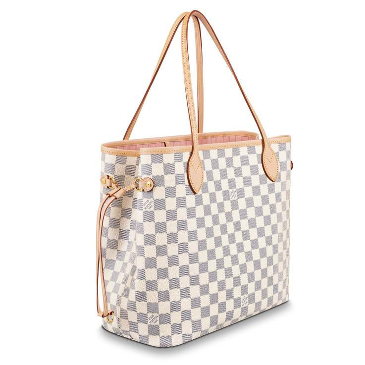 / Neverfull MM checkerboard shopping bag mother bag four optional [booking goods 2-3 weeks delivery]