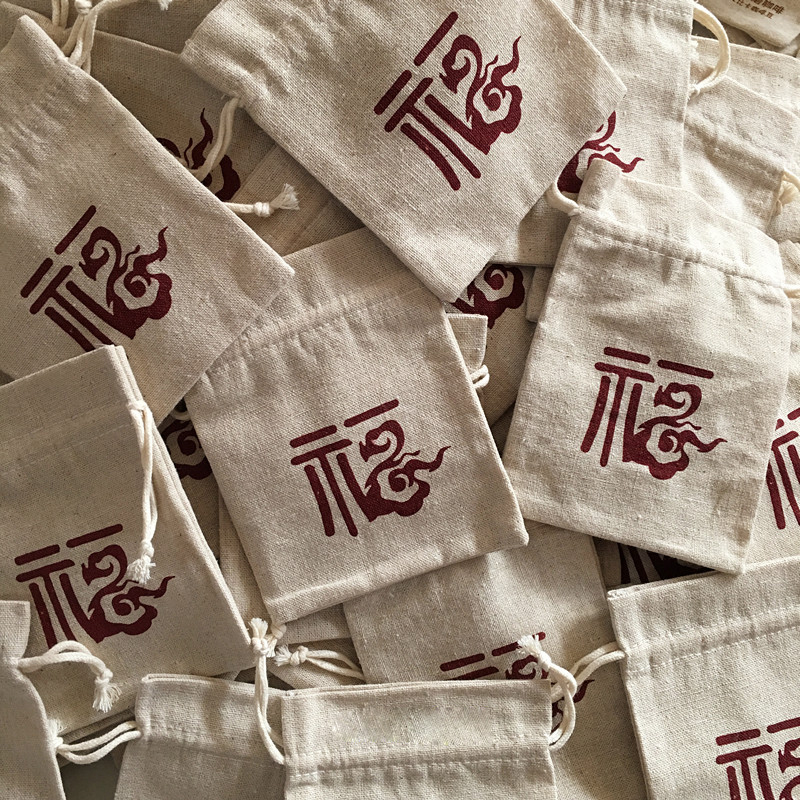 """pack of 50 Cotton Linen Drawstring Bag 10x15/4""""x 6"""" Christmas Sachets Candy Sack Wedding Party Favor Bag Jewelry Packaging Pouch"""