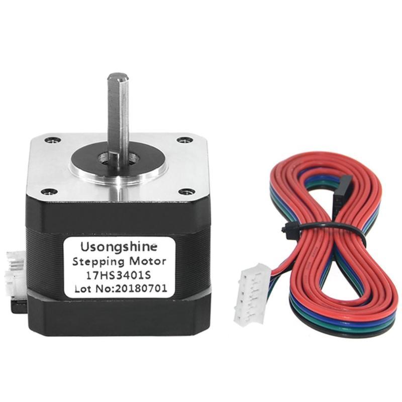 1~10PCS 42 Nema 17 Stepper Motor 1.5A 4-wire Cable for DIY 3D Printer CNC LOT CB