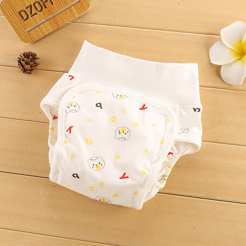 7PCS Assorted Colors Adjustable Reusable Waterproof Breathable Leakproof Baby Cloth Diapers for Toddler Infant Newborn Baby Boys Girls Mesh Cloth