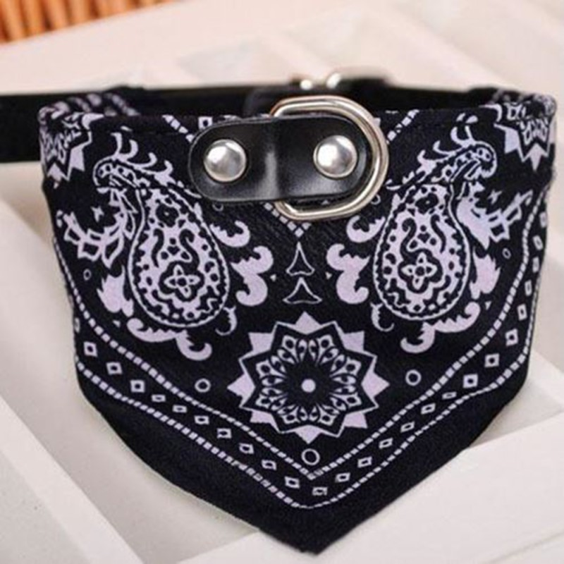 New Printed Pet Dog Scarf Collar Adjustable Triangular Puppy Cat Tie Collar Neck Strap For Small Medium Dogs Cats Pet Supplies (2)
