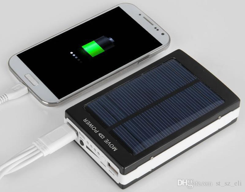 30000mah solar 20led camping light charger 20 led 30000 mah power bank camp lights Dual USB battery Paergy chargers SOS help For Mobile
