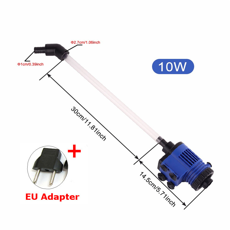 Automatic Aquarium Water Changer Clean Vacuum Water Change Gravel Pump Fish Feces Siphon Sand Washer Filter Fish Tank Cleaner7