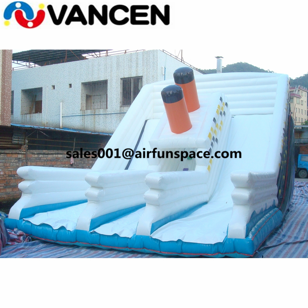 inflatable slide 49
