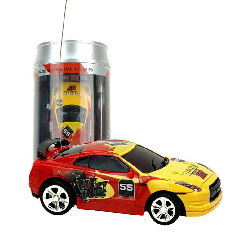 Newest 1/58 Coke Can Mini Car RC Cars Collection Radio Controlled Cars Machines Remote Control Toys For Boys Kids Gift Cars