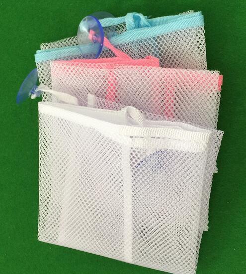 Baby Toy Mesh Storage Bag Bath Doll Organizer Suction Bathroom Stuff Net Funky I