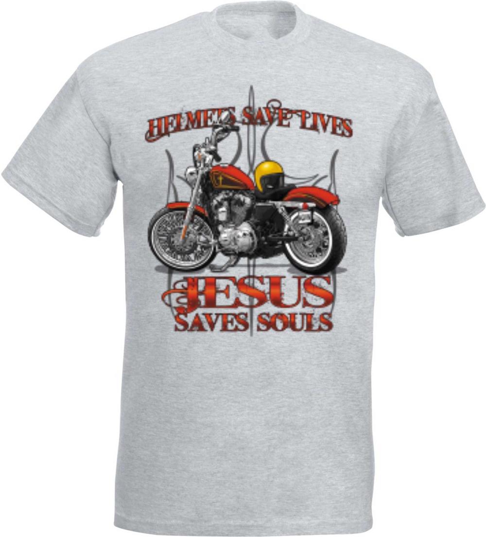T shirt noir Hd Biker Chopper /& Old schooldruck modèle vintage Motorcycles