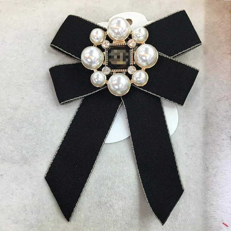 Creative Brooch Pin Brooch Dumb Silver pearl brooch Family Party costume Accessories Floral pin 2-piece set Badge Pin Lapel Pin