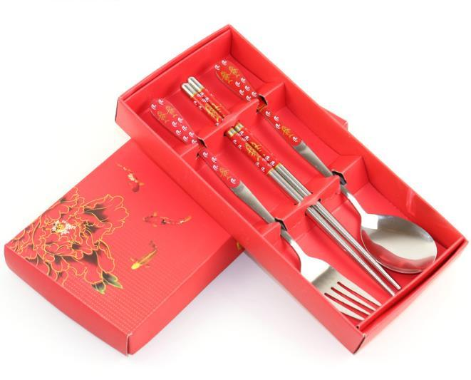 100sets-lot-Stainless-Steel-Spoon-Fork-And-Chopstick-Set-Metal-Tableware-Wedding-Gift-Souvenirs-Free-Shipping (5)
