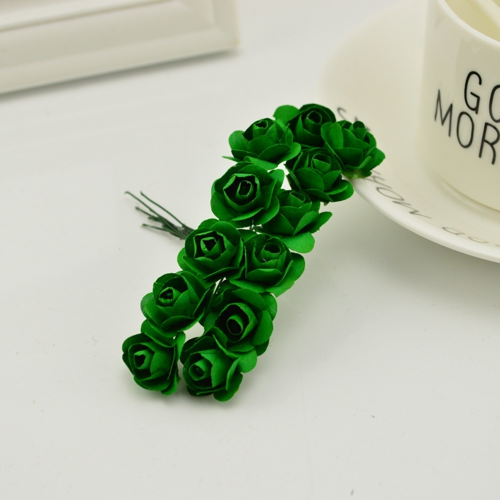 144pcs-1cm-cheap-Artificial-Paper-flowers-for-Wedding-car-fake-Roses-Used-For-decoration-Candy-box(5)