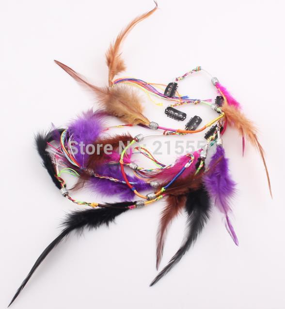 2019 Long Feather Hair Clip Hairpin Headband Feathers Products Accessories Jewelry Wig Zh114