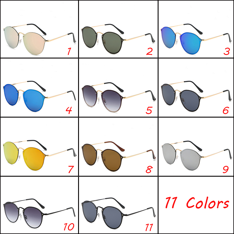 Gradient Sunglasses Brand New Fashion Sun Glasses Mirror Lens Cycling Eyewear UV400 Men Women Summer Outdoor Goggle Mixed Color Dropshipping