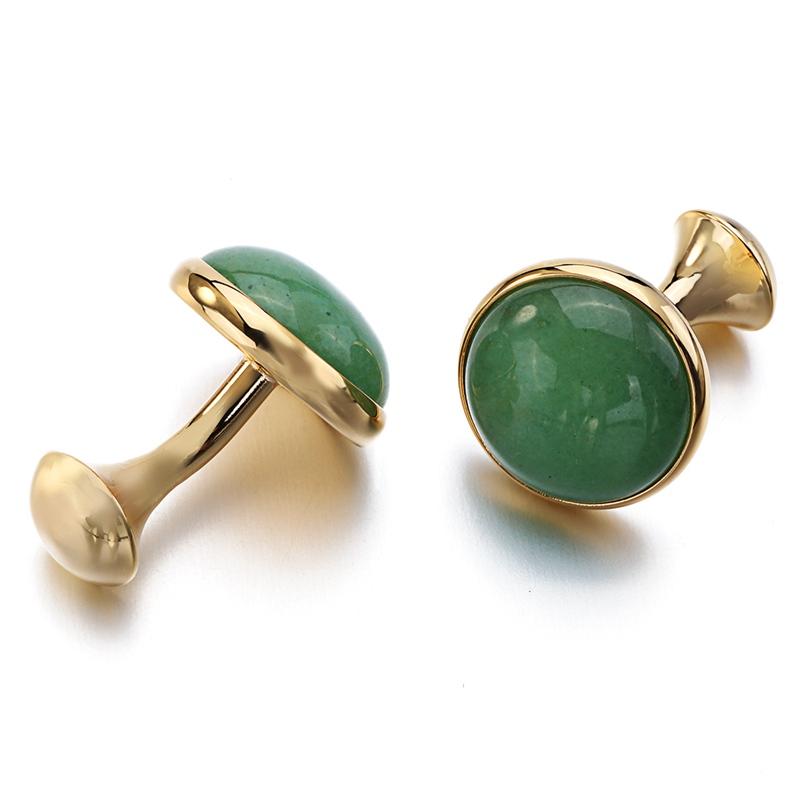 Green Stone Cufflinks (3)