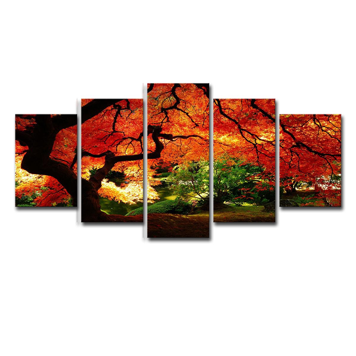 Rabatt Herbst Baum Wand Kunst 2020 Herbst Baum Wand Kunst Im Angebot Auf De Dhgate Com