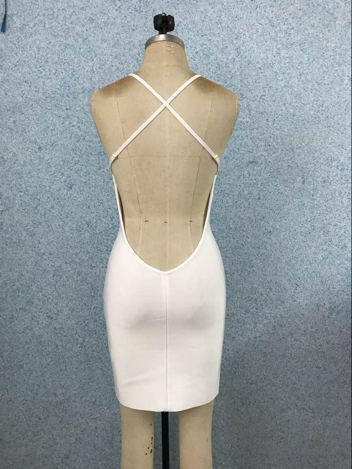 2019 Vestidos Mulheres Sexy Profundo Decote Em V Designer Grosso Rayon Borla Preto Vermelho Bandage Dress Celebrity Night Club Party Dress