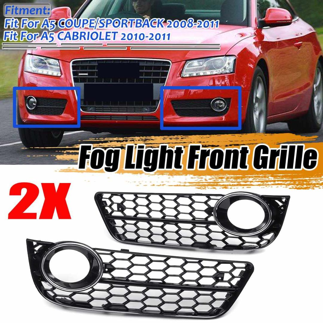 Fits 2008-2011 Ford Focus Sedan Coupe Stainless Mesh Grille