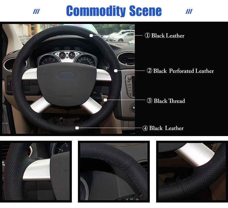 for Ford Kuga steering wheel covers