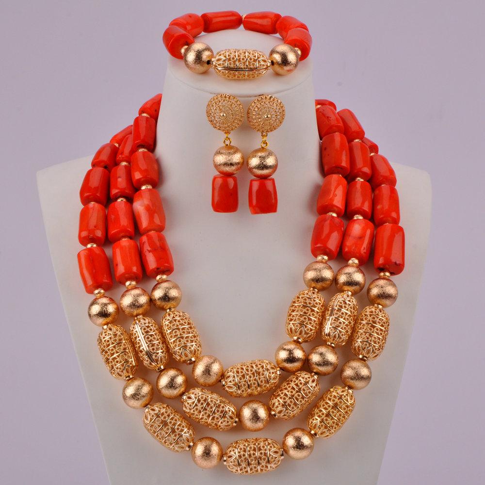 Orange Coral Beads-05-190 (2)