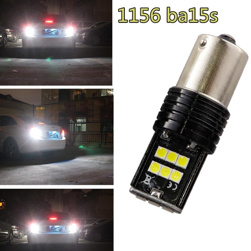 1156 BA15S 382 P21W 2W 12 COB SMD LED Car Turn Tail Backup Reverse Light Bulb UK