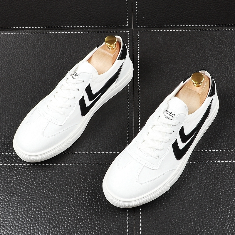 Memorable2019 Small Summer Ephebe Student All-match Ventilation Canvas Korean Trend Casual Shoes White Male Shoe